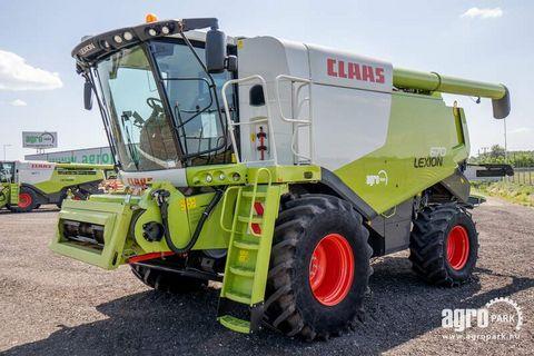 Claas Lexion 670 APS (1057/1557 BStunden)