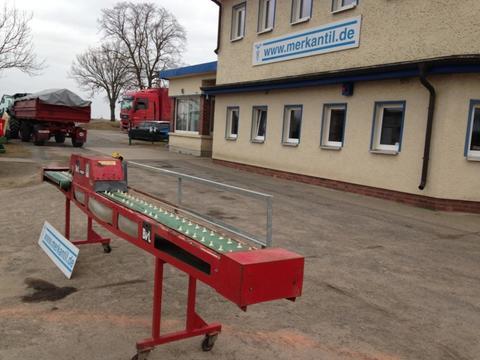 Schneider Spargel Sortier und Reinigungsband