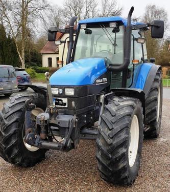 New Holland TS 115 + Fronthydraulik