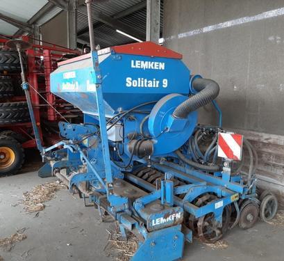Lemken Solitair 9/300 + Zirkon 9/300