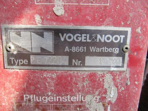 Vogel&Noot 2-schar Wendepflug