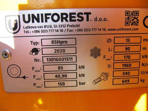 Uniforest Uni 85 H Pro Stop