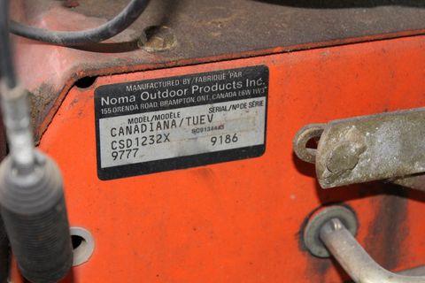 Canadiana 1232 12 PS Tecumseh/80cm