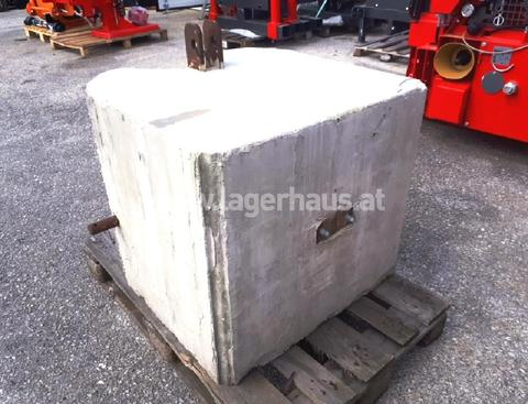 EIGENBAU 950 KG BETONGEWICHT