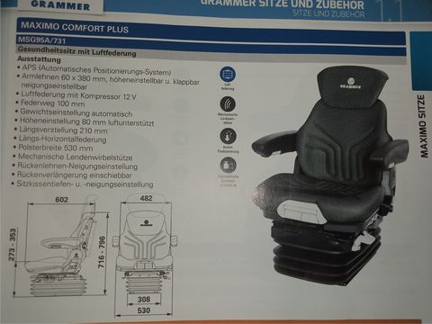 Grammer MAXIMO COMFORT PLUS (MSG95A/731)