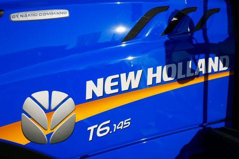 New Holland T6.145 Dynamic Command SideWinder II (Stage V)