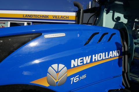 New Holland T6.145 Dynamic Command SideWinder II