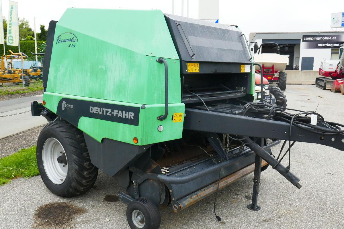 Deutz fixmaster 235 chambre balles fixe agricole for Chambre agricole