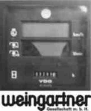 Steyr STEYR Traktoren  -  VDO  Digitaltraktormeter