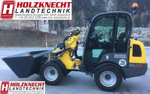 Wacker Neuson WL25 Hoftrac Kabine Heiz gleich Weidemann 1280