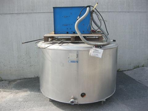 De Laval  1250 Liter Runde Kühlwanne