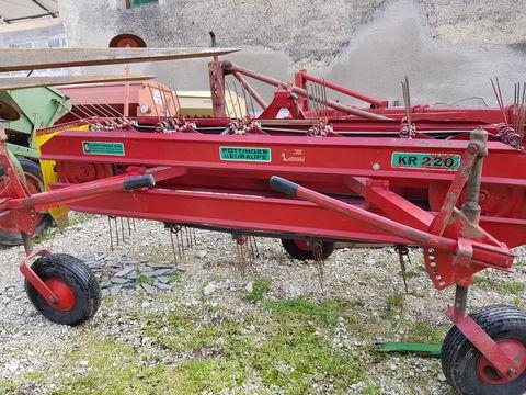 Pöttinger KR220 rendsodró és rendterítő egyben