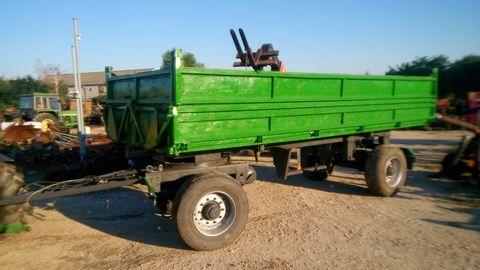 Egyéb BSS 16 tonnás pótkocsi
