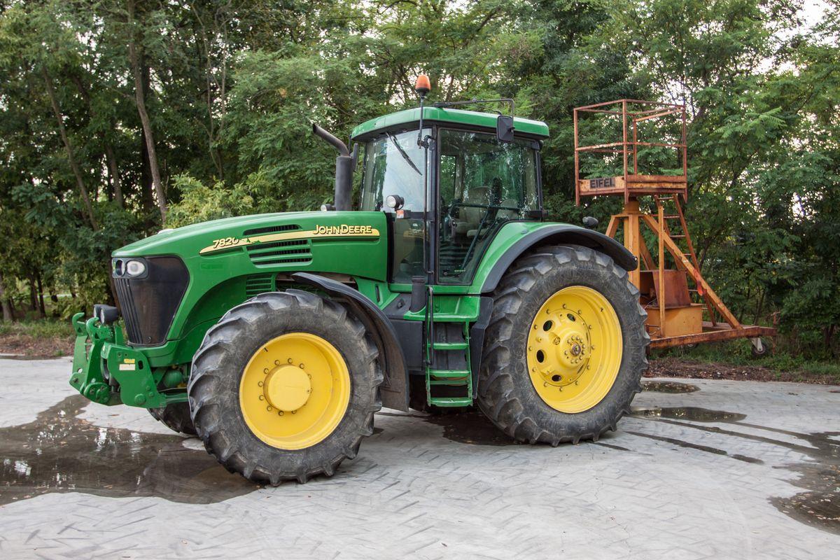 john deere 7820 traktor moln r zsolt
