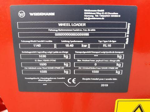 Weidemann 1140 Hydrostat