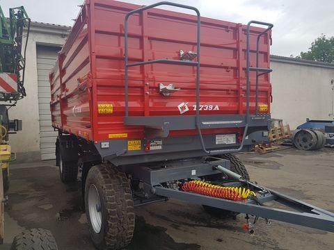 Metal-Fach T739 pótkocsi 14t hasznos RAKTÁRRÓL
