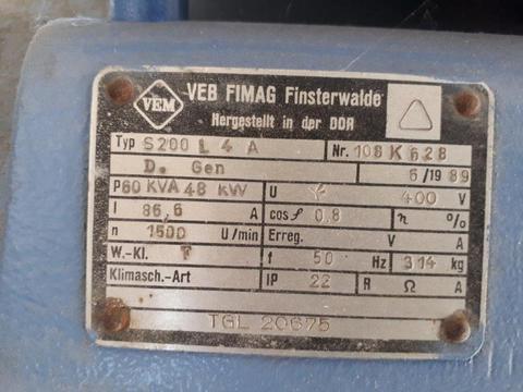Sonstige / Other VEB IFA S 200 L4 A