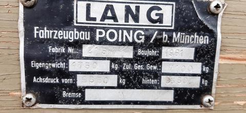 Sonstige / Other Lang 7,1 t