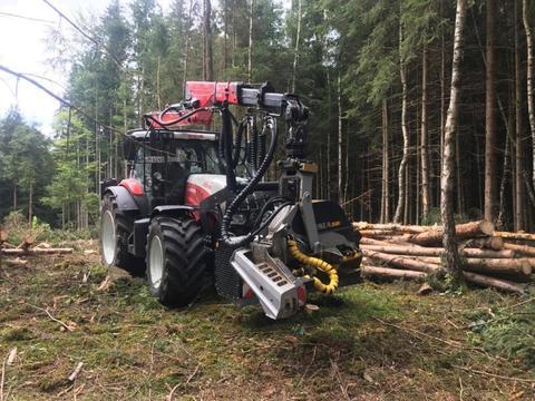 Steyr Steyr CVT 6240 ET Kneidinger Forstaufbau