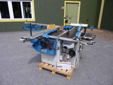 Außergewöhnlich kombinierte Holzbearbeitungsmaschinen - Landwirt.com #EM_04