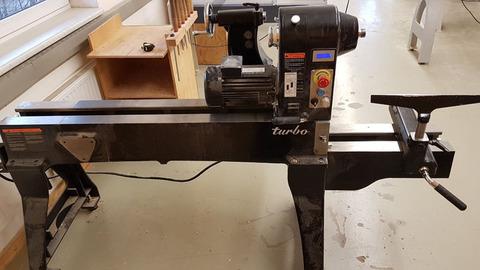 Holzprofi Drechselbank Holzprofi MC1220 gebraucht