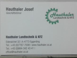 Hauthaler Josef