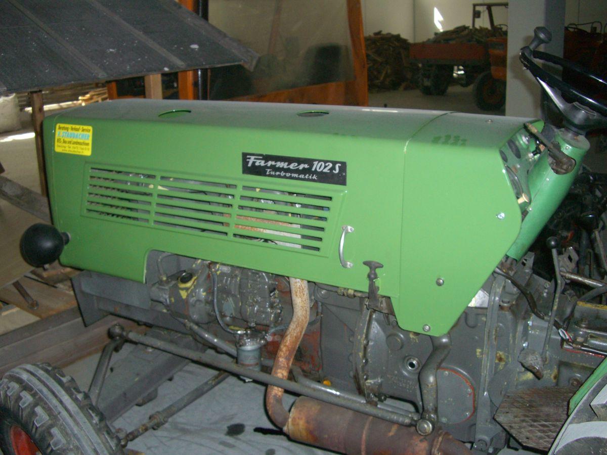 fendt 102 s turbomatik - f  staudacher