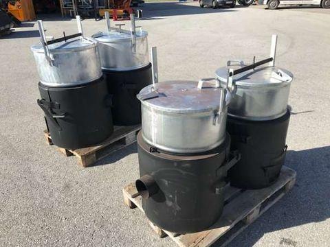 Sonstige Futterdämpfer 100 und 160 Liter Aktion