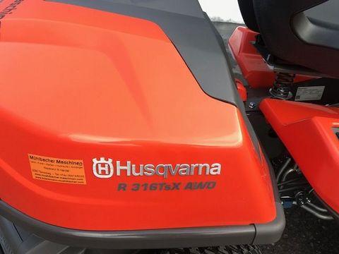 Husqvarna Rider R316TsX AWD mit 103cm Mähdeck
