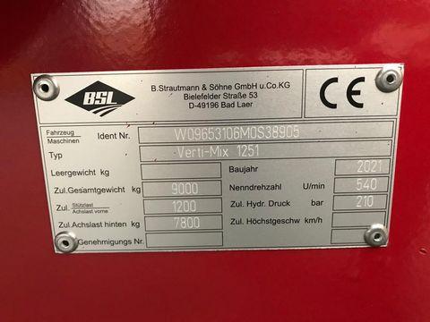 Strautmann Futtermischwagen Verti-Mix 1251 10m³