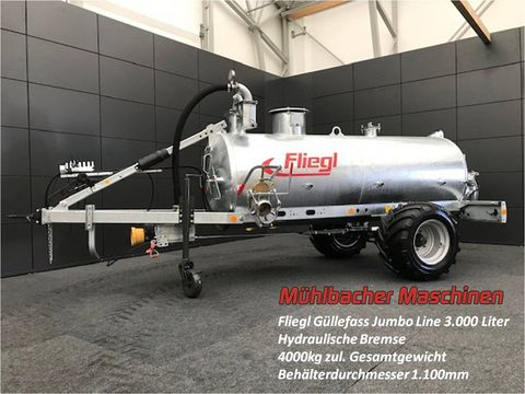 Fliegl Alpin Güllefass 3000 Liter Jumbo Line