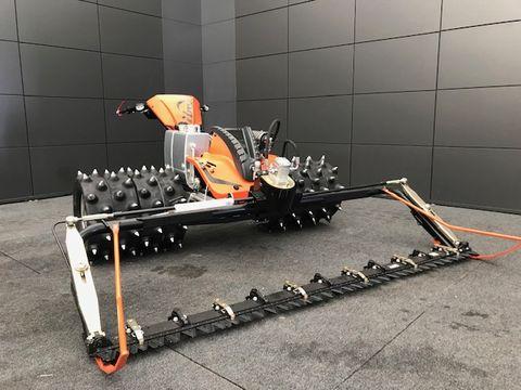 Ibex Motormäher G2-P Alpin mit Gummistachelwalzen