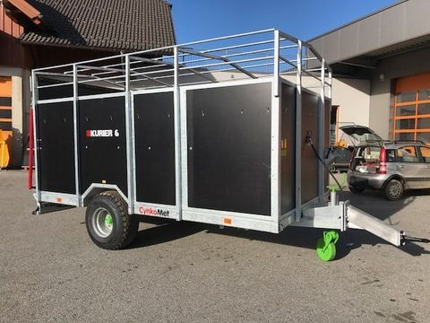 Kurier Traktor Viehanhänger 6 verzinkt hydr. Bremse