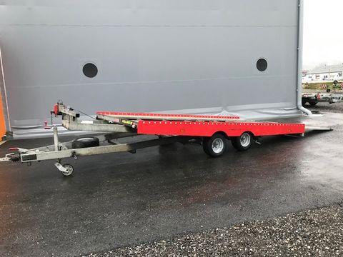 Humer Autotransporter kippbar  4,3 x 2,1 Meter