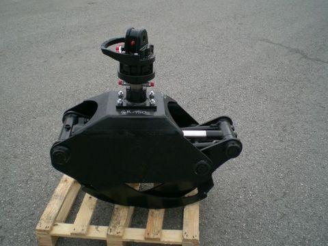 Binderberger Holzzange GR 1500 mit 4,6t Rotator