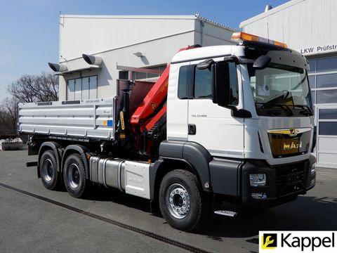 MAN TG3 33.470 6X4 BB + PK-18002EH-C + Kipper