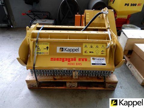SEPPI M. Mulchgerät für Baggeranbau