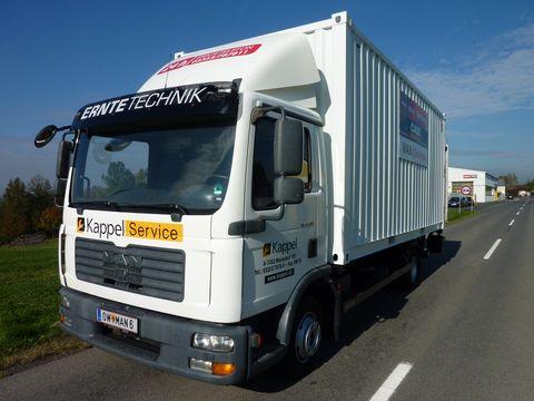 MAN TGL 8.180 LBW Container mobile Werkstätte E4