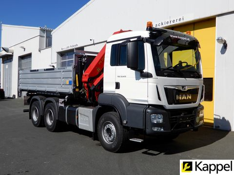 MAN TGS 33.470 6X4 BB + PK22002EH-D + Kipper