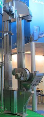 Conpexim Becherelevator verzinkt 15m 50t/h neu