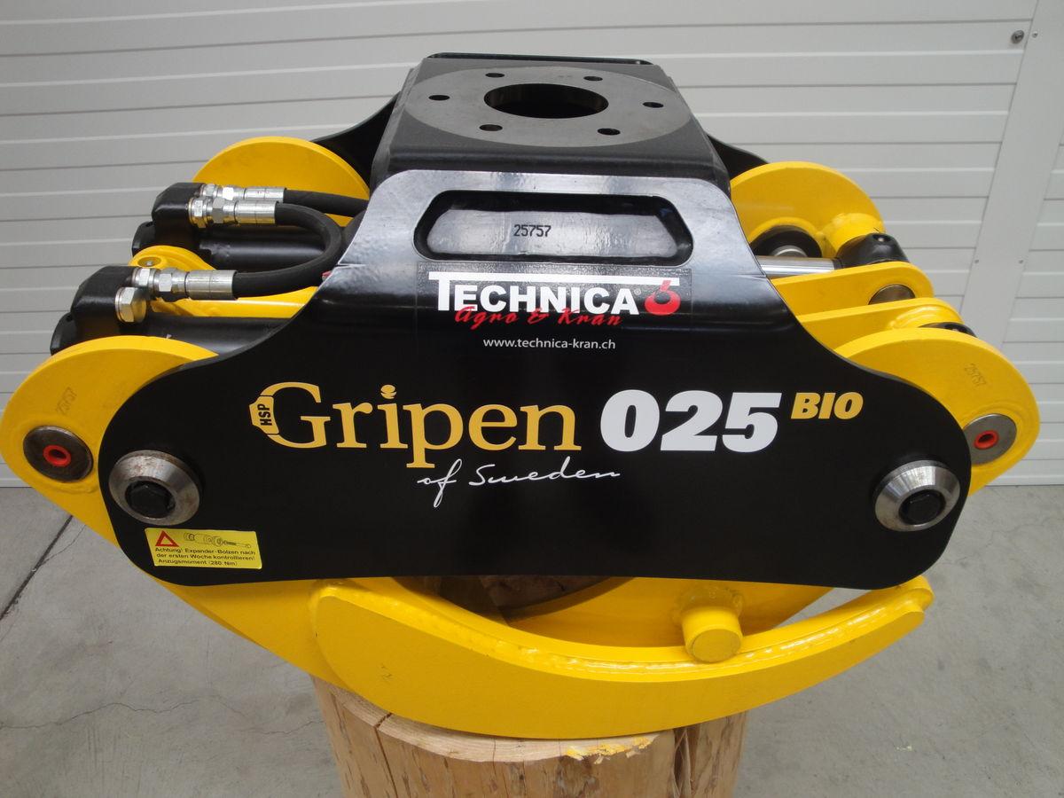 sonstige, Holzgreifer Gripen 025 BIO