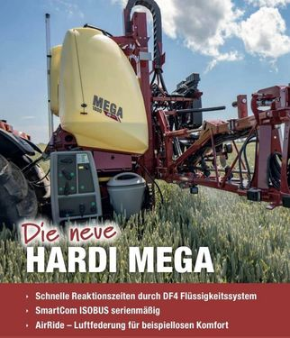 Hardi Mega 1200l 15m