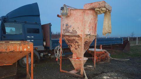 Permomat Tápkeverő darálóval 1000 kg