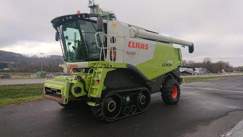 Claas Lexion 760 Terra Trac (Stage IIIa)