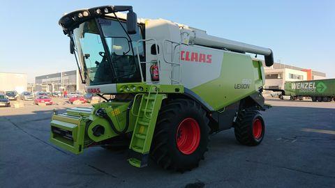 Claas Lexion 660 (Stage IIIa)