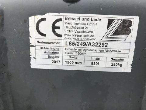 Bressel & Lade Schaufelkroko 1500mm