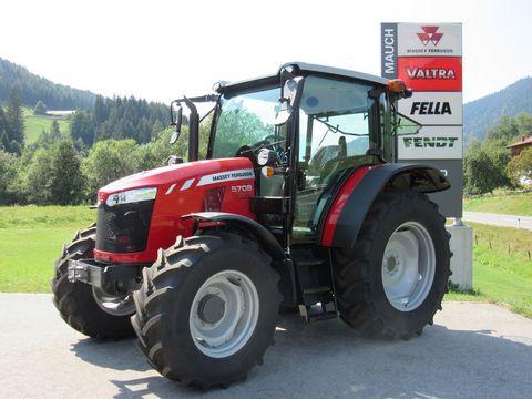 Massey Ferguson MF 5708 MR Dyna 4 Alpin Plus Neu