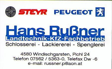 Landmaschinen Hans Rußner e.U.