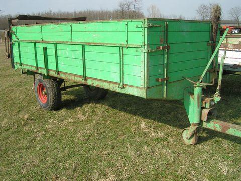 Brantner 4,5 tonnás trágyaszóró