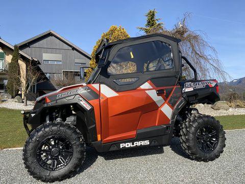 Polaris NEW General 1000 Deluxe, Raupen Typisiert! L7e